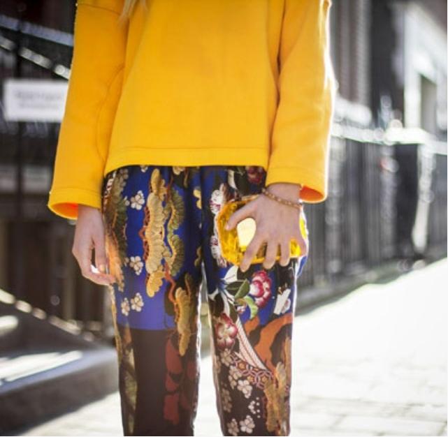 Цветотип желтый цвет в одежде