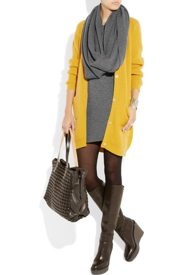 01d9e7b28aeba882b6ed808b003f970f Как носить платья с коротким рукавом осенью зимой
