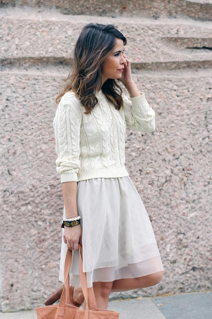 1f4554f1e64d3557286caefbb5718f87 Как носить платья с коротким рукавом осенью зимой