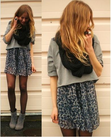 Bildschirmfoto 2013 11 12 um 22.41.04 Как носить платья с коротким рукавом осенью зимой