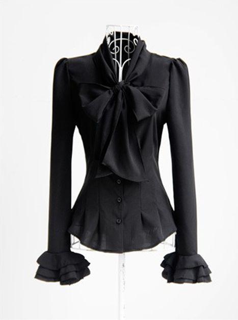 Купить Блузку С Бантом